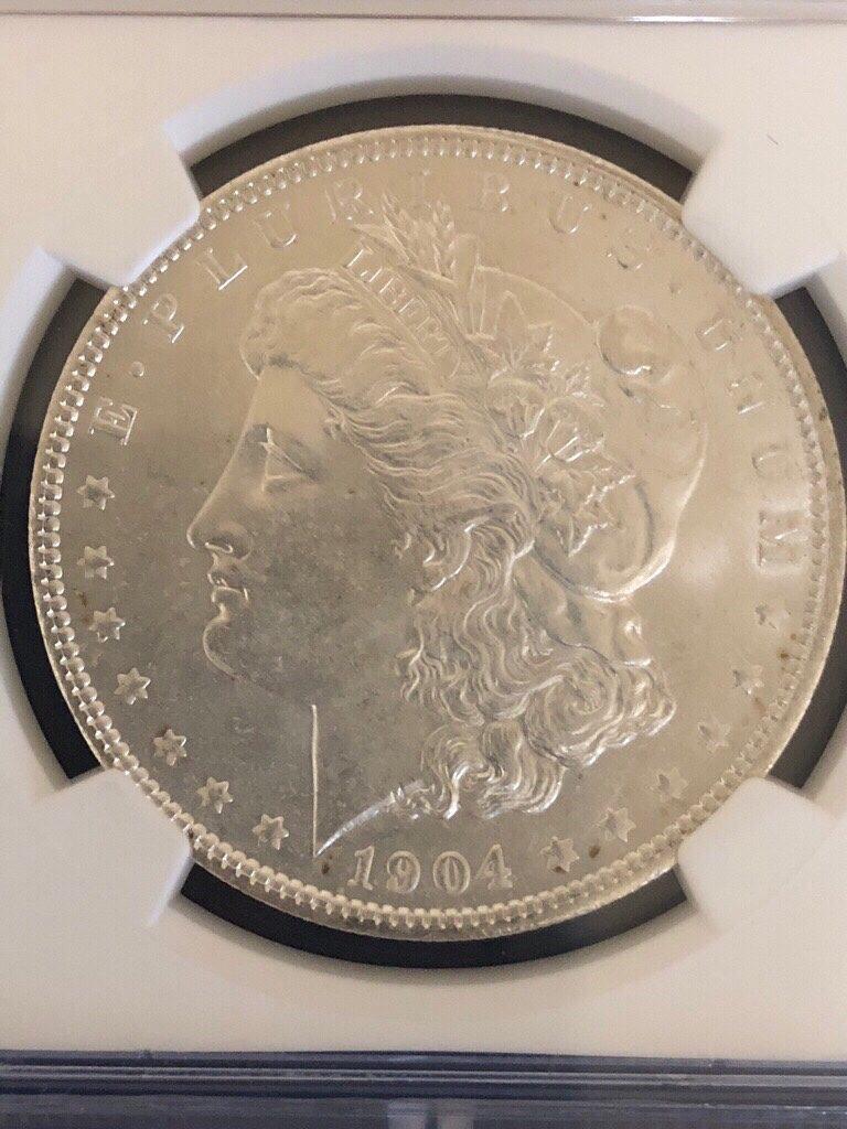 モルガンダラー銀貨 アンティークコイン